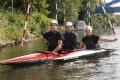 Grunwald Trummer Fritsche im Boot