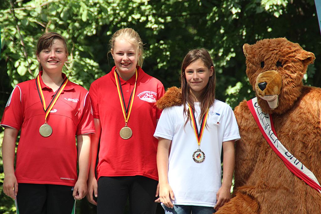 Deutsche Kanuslalom Schülermeisterschaften Bronze Team 3xC1 | Foto BSV Halle