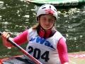 Deutsche Kanuslalom Schülermeisterschaften Claire Harlak   Foto BSV Halle