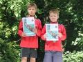 Deutsche Kanuslalom Schülermeisterschaften Bronze für Paaschen/Borrmann  Foto BSV Halle