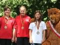 Deutsche Kanuslalom Schülermeisterschaften Bronze Team 3xC1   Foto BSV Halle