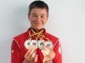Vierfacher Deutscher Schülermeister Felix Göttling   Foto BSV Halle