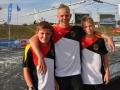 Europameisterschaft Krakow mit Willi Braune, Leo Braune, Eric Borrmann