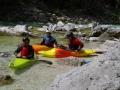 Wildwasserwoche auf der Soca in Slovenien