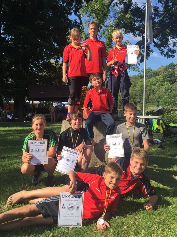 Ausgesprochen erfolgreich waren die Sportler des BSV Halle bei den Schülerspielen in Sachsen-Anhalt.