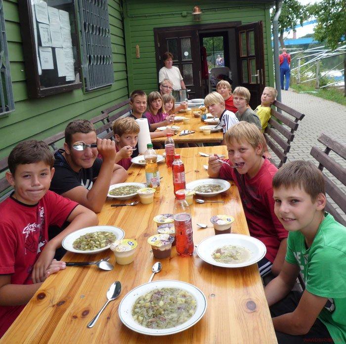 Ferienlager im BSV-Bootshaus