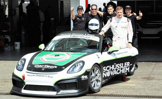 PSSC team mit Stefan Pfannmöller