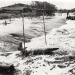 Am Sophienhafenwehr fanden viele Slalom - Wettkämpfe statt. Schon bei den ersten Slalom-Wettkämpfen und wieder um 1970 war es hier eine ausgezeichnete Wettkampfstrecke.