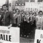 Spartakiade - Eröffnung in Zwickau.