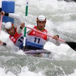 Kai und Kevin Müller beim Worldcup in Markkleeberg