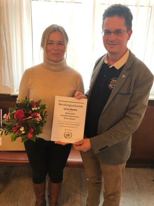 Ernennung von Sylvia Marker durch Markus Baudisch