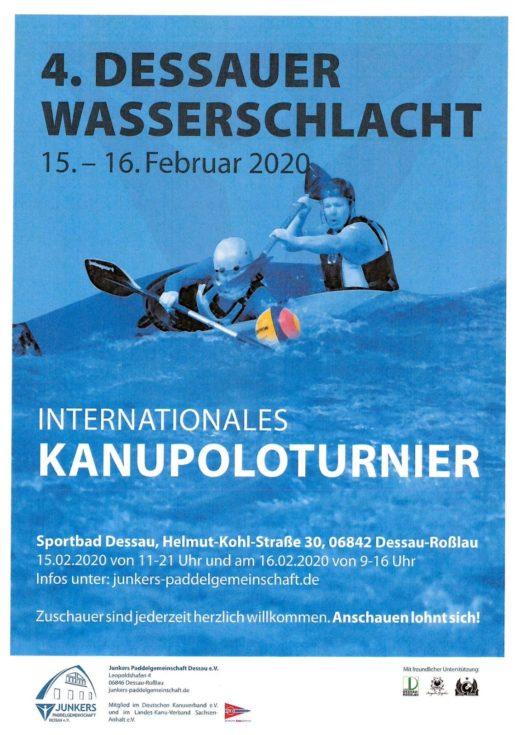 """BSV-Kanupolo bei der  """"4. Dessauer Wasserschlacht"""" @ Sportbad Dessau"""