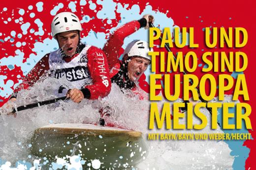 Paul und Timo sind Europameister © pandamedien