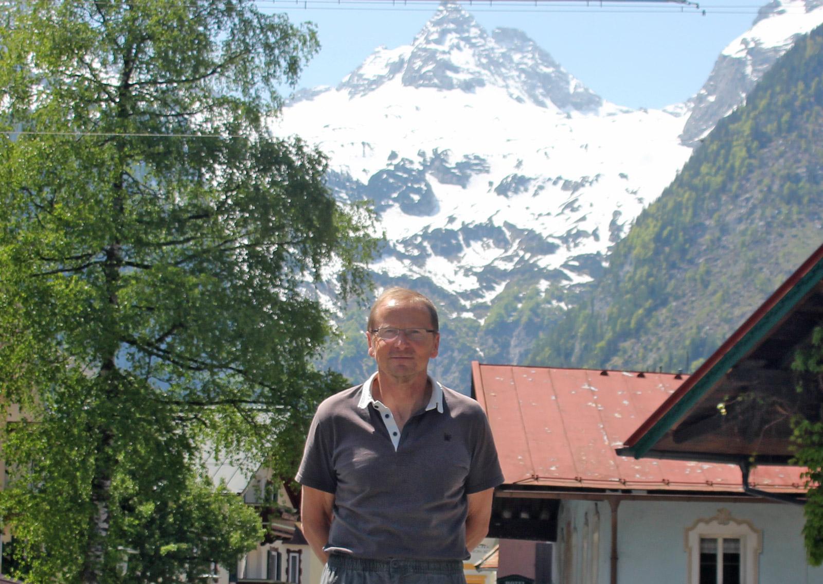 Helmut Schroeter in Lofer 2012
