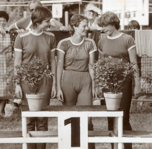 Schade-Salzmann-Braune Sieger der DDR Meisterschaft 1985